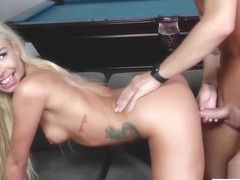 Carmen Caliente is fucked by her boss as part of her payment
