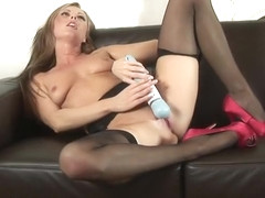 Handsome Sandra Sanchez featuring hot toy fucking video