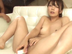 Yura Kurokawa amazes with how tight her pussy is - More at Slurpjp.com