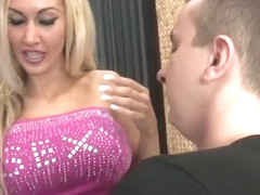 MILF Blonde armpit smother