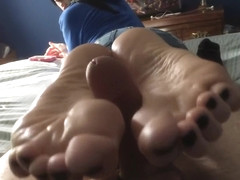 Is this the best footjob ever? Incredibly sexy and sensual