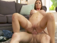 Horny Milf Diamond Foxxx's New Project: Her Son's Friend - MyFriend'sHotMom