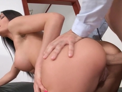 Kitana Lure Brunette With Nice Tits Gets Fucked