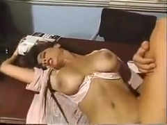 Christy Canyon with Tom Byron