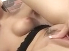 Piss addict Aruna Aghora fist fucking herself