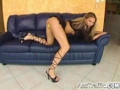 The beautiful Victoria Swinger engages in some hot anal action.