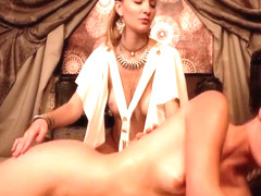 Elena Vega and Belle Claire in Unlocking The Gate Of Pleasure