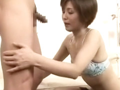 Hottest Japanese whore Satsuki Kirioka, Maki Hojo, Erika Kurisu in Amazing Stockings JAV video