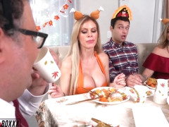 A Cuckold Family Thanksgiving