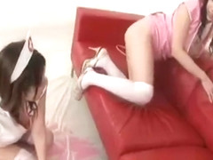Arisa Aoyama Saki Asaoka Naughty model part5