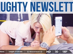 Juan Lucho  Sienna Day in Naughty Newsletter - VirtualRealPorn