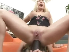 Isabella Clark ass pounded by friend with brutal dildo