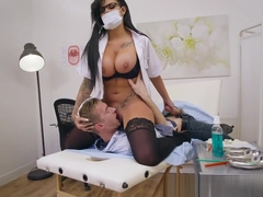 Brazzers - Doctor Adventures - Open Wide scene starring Can