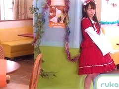 Ruka Kanae in Good Looking Service Maid part 3