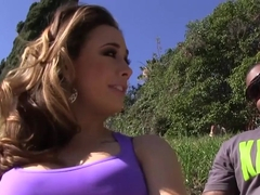 Chanel Preston sucks and fucks BBC - Cuckold Sessions