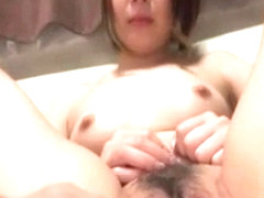 Mao Mizusawa endures large inches into her pussy