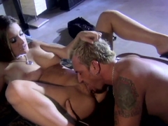 Hot chick Andreza gets savagely owned by a stud