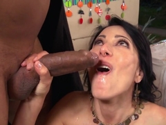 Horny pornstar in Exotic Interracial, MILF xxx scene