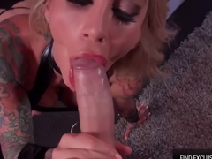 Sarah Jessie take a Huge Cock in her Hot Fit Body - The Stripper Experience
