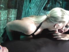 Rebecca More & Seb Cam & Megan Coxxx in Latex Dungeon - KINK
