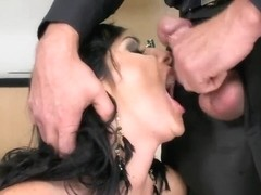 Lexi Ward prefers to bang with her sexy boss after work