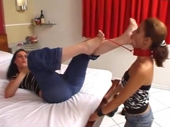 Foot Worship with Erotic Spit