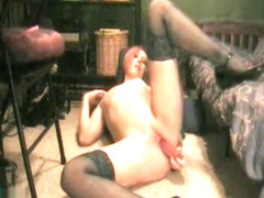Redhead Does Anal On Cam
