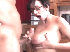 Alia Janine: One the best Handjob (Extract)