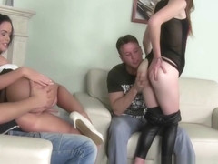 Euro Sex Parties - Linet Slag Alexis Crystal Tony 1