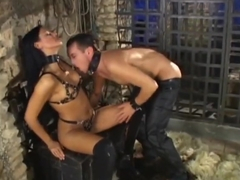 Amazing domina getting banged.