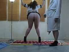Naughty Schoolgirl Caught and Punished Part 2 of 4