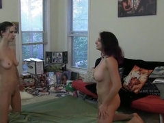 WRESTLING, CATFIGHTS, FACE-SITTING AV1204 A great way to celebrate an...