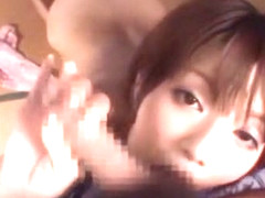Amazing Japanese girl Mayu Nozomi in Best Blowjob JAV clip