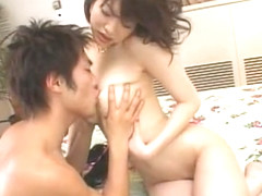 Crazy Japanese chick Akari Hoshino in Fabulous Doggystyle, Couple JAV scene