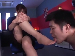 Crazy Japanese model Karen Kisaragi in Best Blowjob, Medical JAV video