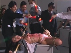 Incredible Japanese girl Kana Mimura, Rin Yamaki in Crazy Fetish, Office JAV movie