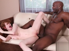 Curly Redhead Takes Black Dick