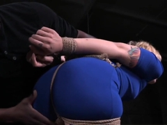 NT submissive tiedup and disciplined by dom