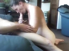 Horny exclusive ponytail, garage, moan sex movie