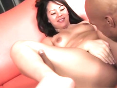 Asian Babe Tina Lee Gives Head And Gets Cunt Licked