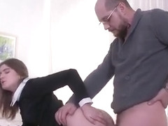 Sultry Schoolgirl Gets Tempted And Penetrated By Her Senior