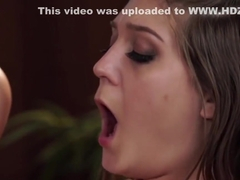 Provocative Lena Nicole on her full oil body knead with JoJo