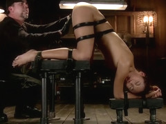 Gorgeous Alina Li having a real BDSM experience