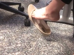 Incredible Flats Dangling - Office Coworker