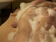 Rita Ulyanova Being Showered And Her Pussy Fingered