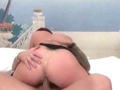Mellow busty experienced female featuring hot handjob sex video in the open