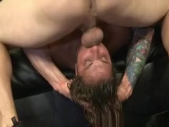 Shocking Teen Girl Extreme Face Fuck