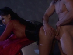 Horny latina Mikayla Mendez gets screwed in the dark