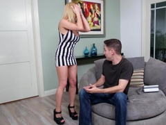 Horny pornstar Rachel Roxxx in Incredible Blowjob, Blonde xxx video