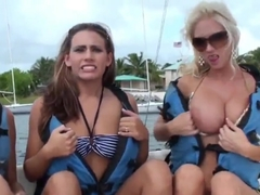 Breanne Benson, Molly Cavalli and Renna Ryann